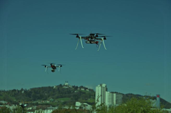 Dron logística